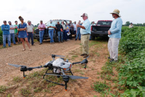 LSU AgCenter's Randy Price with drone